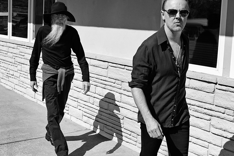 Lars Ulrich and Torben Ulrich, photo by Marc Hom, retouch